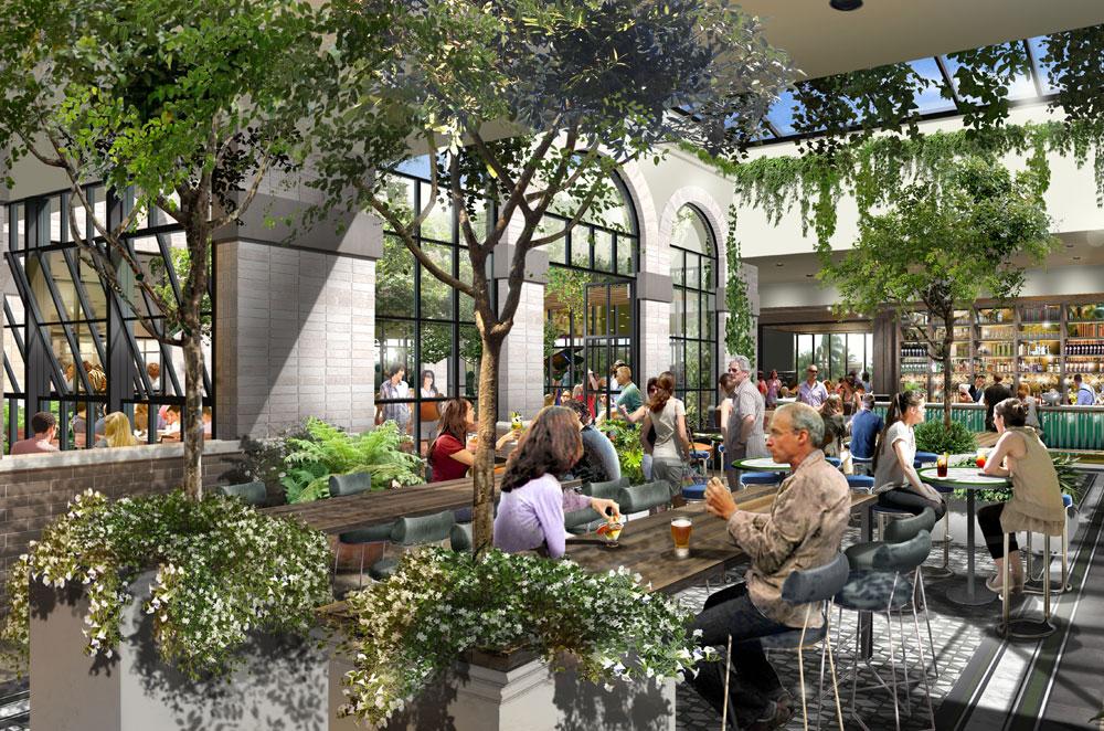Artist render of Courtyard, DYRSLs new area